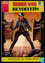 Comics - Lasso - Muur van revolvers