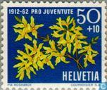 Postage Stamps - Switzerland [CHE] - Flowers