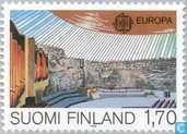 Postzegels - Finland - Europa – Het menselijk vernuft