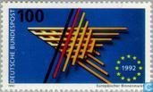 Postage Stamps - Germany, Federal Republic [DEU] - European internal market