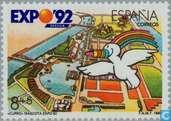 Timbres-poste - Espagne [ESP] - Exposition universelle de Séville-
