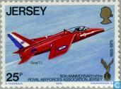 Postage Stamps - Jersey - RAFA 1925-1975