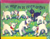 Bucher - Wolf en de zeven geitjes, De (KHM 5) - De wolf en de zeven geitjes