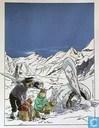 VERKEERDE RUBRIEK --> STRIP-EXLIBRIS/PRENT Hommage à Hergé - Tibet