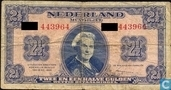 2,5 florins néerlandais 1945