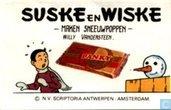 Comics - Suske und Wiske - Zonderlinge vogelverschrikkers / Maken sneeuwpoppen