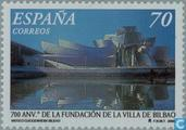 Postage Stamps - Spain [ESP] - 700 years city of Bilbao