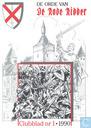 Strips - Orde van de Rode Ridder, De (tijdschrift) - De orde van De Rode Ridder 1