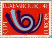 Timbres-poste - Luxembourg - Europe – Cor postal