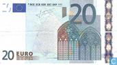 Zone Euro 20 Euro S-J-T