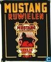 Enamel signs - Mustang Rijwiel Fabriek, gebr. de Geeter Assen - Mustang Rijwielen
