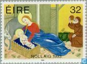 Postzegels - Ierland - Bijbelse voorstellingen