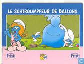Le Schtroumfeur de ballons / De neefjes van de smurfen