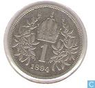 Münzen - Österreich - Österreich 1 Corona 1894
