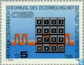 Postage Stamps - Austria [AUT] - Introducing digital phone dialing