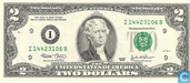 Banknotes - Federal Reserve Note - 2 U.S. Dollars