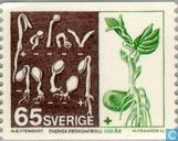 Postzegels - Zweden [SWE] - 100 jaar Zweedse zaad controle