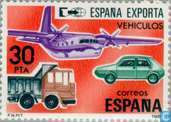 Postage Stamps - Spain [ESP] - Export