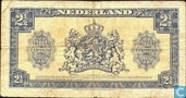 Banknotes - Geldzuivering Nederland - 2,5 guilder Netherlands 1945