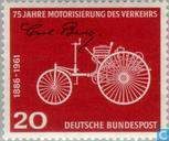 Postage Stamps - Germany, Federal Republic [DEU] - Motorization 1886-1961