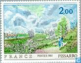 Postage Stamps - France [FRA] - Painting Camille Pissarro