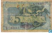Bankbiljetten - Reichskassenschein - Duitsland 5 Mark (pick 8a)