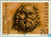 Postzegels - Zwitserland [CHE] - Martigny 2000 jaar