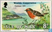 Postage Stamps - Man - Birds