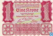Billets de banque - Autriche - 1922 First Issue - Autriche 1 Krone 1922