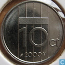 Coins - the Netherlands - Netherlands 10 cents 2000