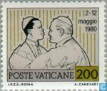 Briefmarken - Vatikanstadt - World Travel Papst Johannes Paul II.