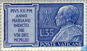Postage Stamps - Vatican City - Marian Year