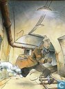Poster - Comic books - VERKEERDE RUBRIEK --> STRIP-EXLIBRIS/PRENT Hommage à Hergé - Tunnel