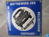 Emaille Bord : ''Wartburg''