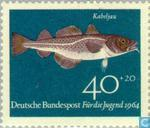 Postage Stamps - Germany, Federal Republic [DEU] - Fish