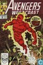 Comic Books - Avengers, The [Marvel] - Avengers West Coast 50