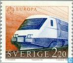 Postage Stamps - Sweden [SWE] - Europe – Transportation and communications