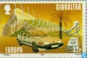 Timbres-poste - Gibraltar - Europe – Transports et communications