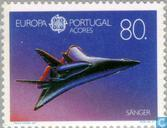 Postage Stamps - Azores - Europe – Aerospace