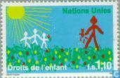 Timbres-poste - Nations unies - Genève - Droits de l'enfant