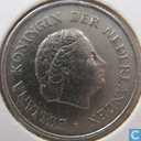 Coins - the Netherlands - Netherlands 25 cents 1972