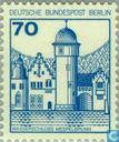 Postage Stamps - Berlin - Castles and chateaux