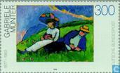 Postage Stamps - Germany, Federal Republic [DEU] - 20th Century Paintings