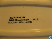 """Ceramics - Signboard - Koninklijk Goedewaagen 1412 schaaltje """"Chepro Nijmegen"""""""