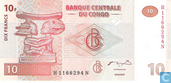 Congo 10 Francs