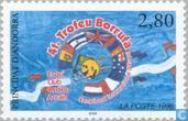 Postage Stamps - Andorra - French - Int. alpine skiing championship