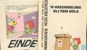 Strips - Mijnheer Bola - 'n Vreemdeling bij Tom Bola