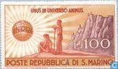 Timbres-poste - Saint-Marin - UNRRA