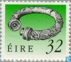 Postage Stamps - Ireland - Irish art treasures