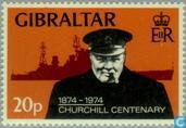 Postage Stamps - Gibraltar - Sir Winston Churchill